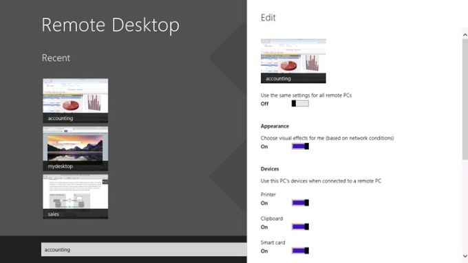 Remote Desktop for Windows 10