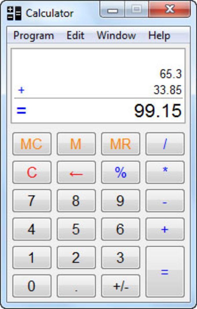 Calculator 32bit
