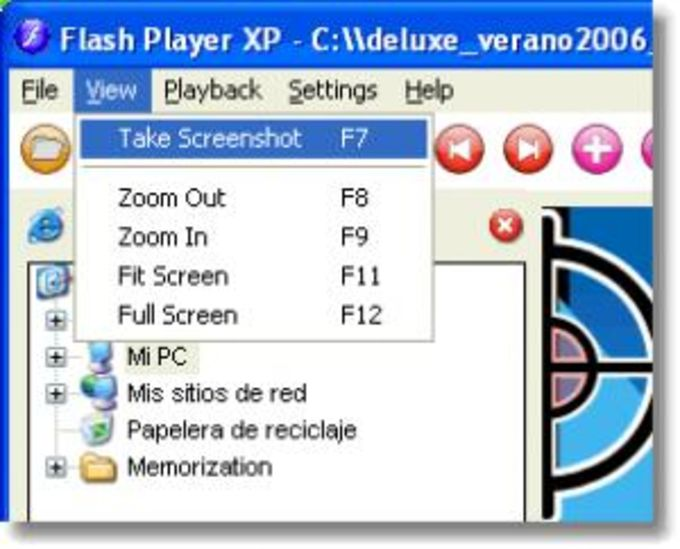 Flash Player XP