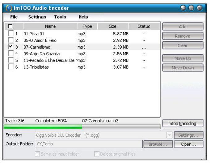 ImTOO Audio Encoder