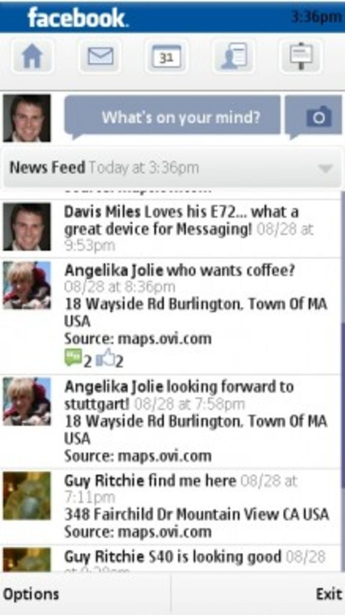 Nokia Social Messaging