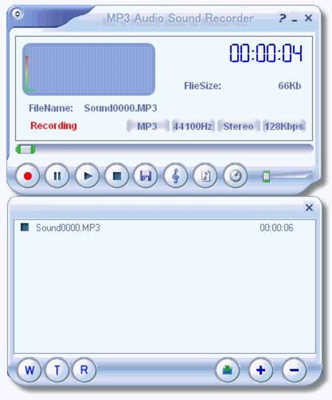 MP3 Audio Sound Recorder