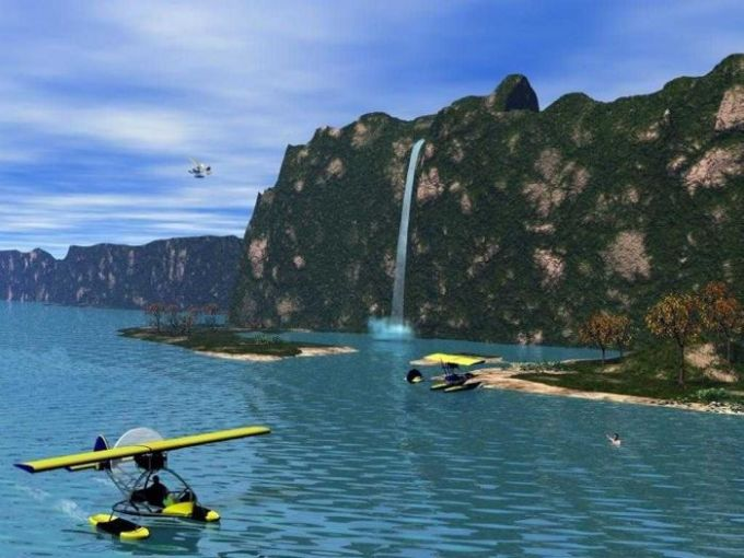 3D Landscape Screensaver