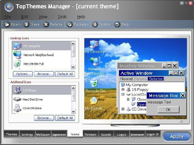 TopThemes Manager