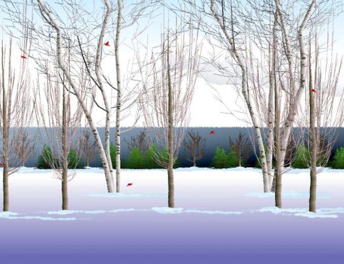 Winter Dreams Screensavers