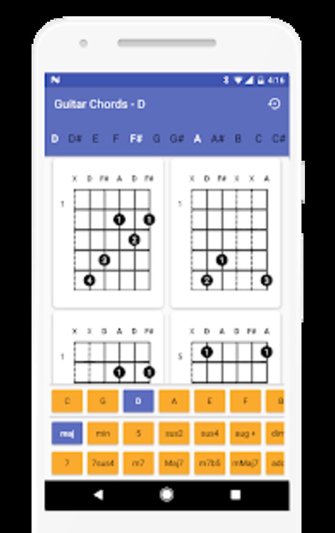 Guitar Chords Finder  No Ads