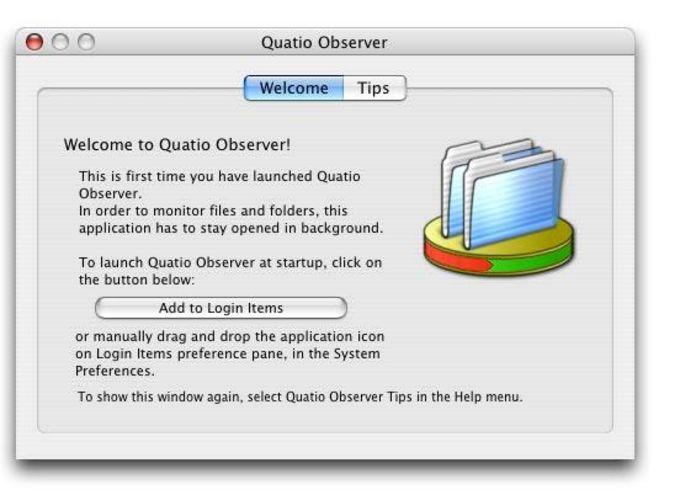 Quatio Observer