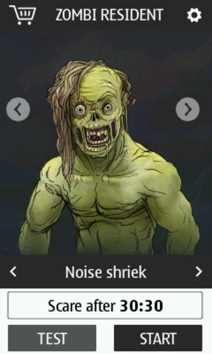 Zomby Resident - Scary Face Prank