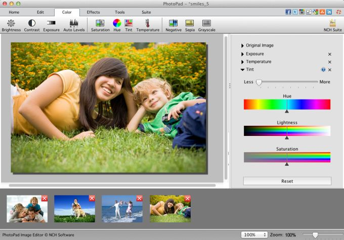 PhotoPad Free Mac Photo Editing Software
