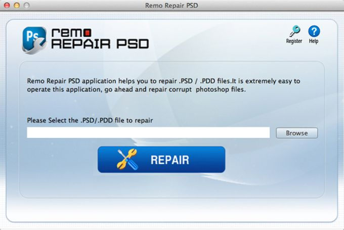 Remo Repair PSD for Mac