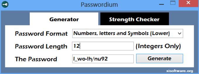 Passwordium