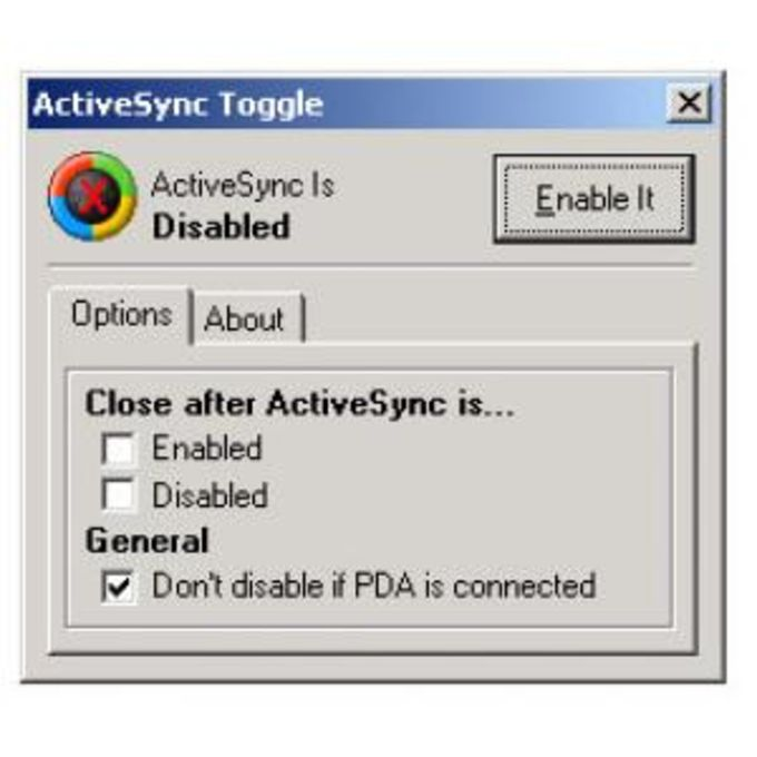 ActiveSync Toggle