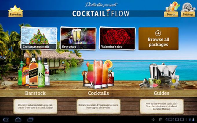 Cocktail Flow Tablet