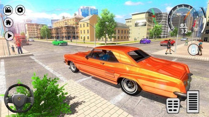 American Muscle Car Driving Simulator Game 2018