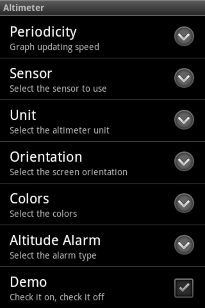 Pro Altimeter