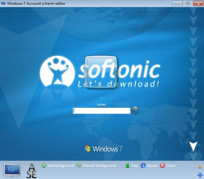 Windows 7 Logon Screen Editor