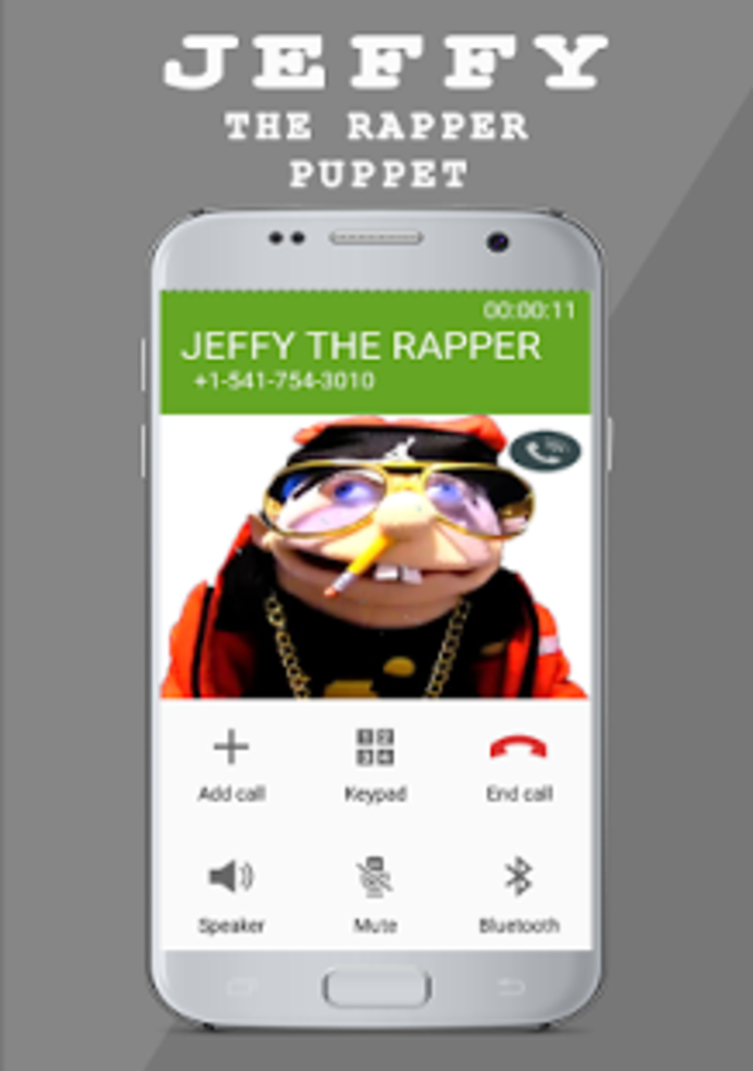 JEFFY : THE RAPPER PUPPET Fake Call Prank
