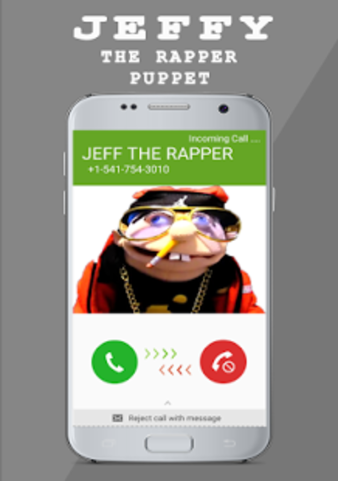 JEFFY : THE RAPPER PUPPET Fake Call Prank
