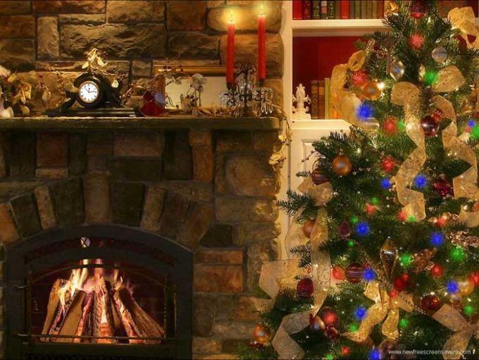Christmas-Bildschirmschoner