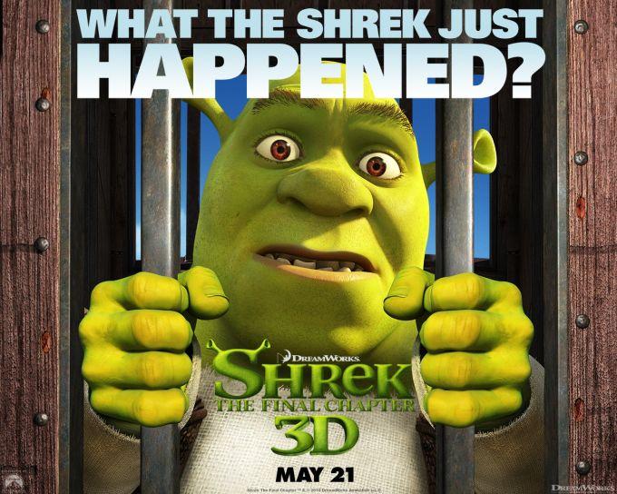 Official Shrek 4 Wallpaper