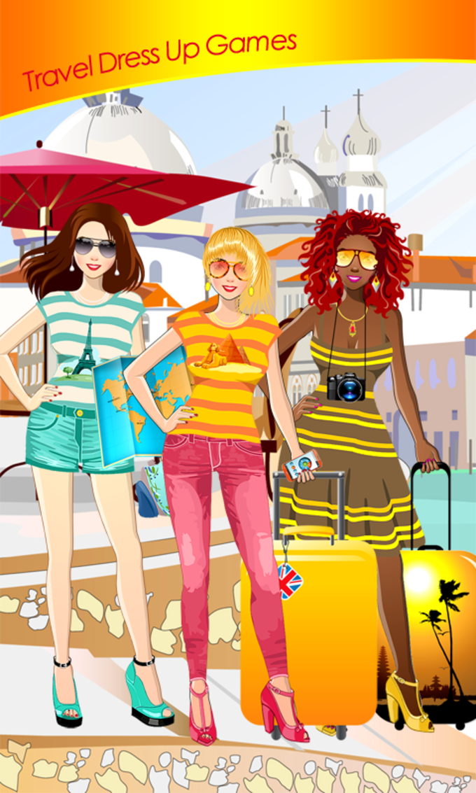 Travel Dress Up Games