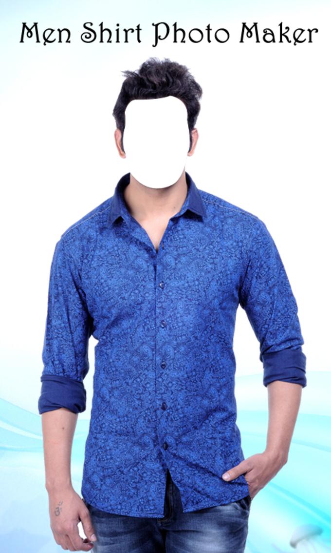Men Shirt Photo Maker New