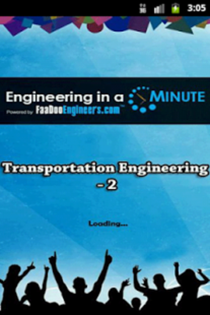 Transportation Engineering 2.1