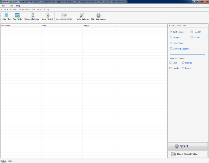Word Document Object N Image Remover