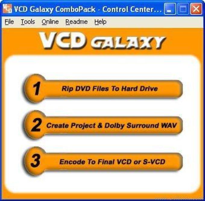 VCD Galaxy DVDRip ComboPack