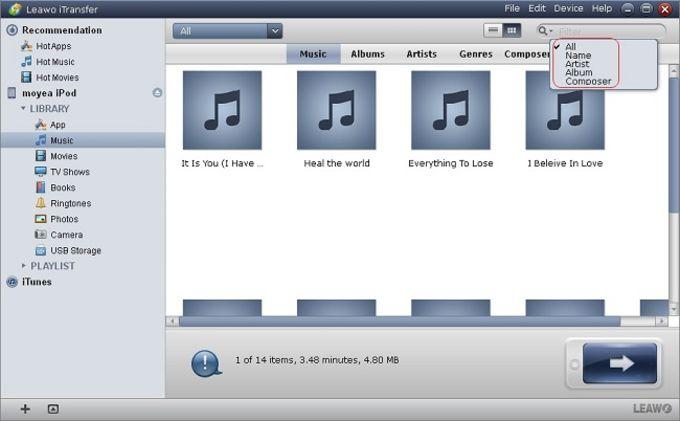 Leawo iPad Transfer