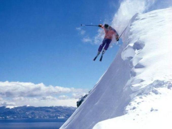 Ski Lake Tahoe Wallpaper