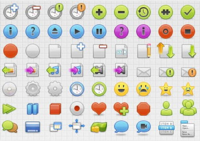Developpers Icons