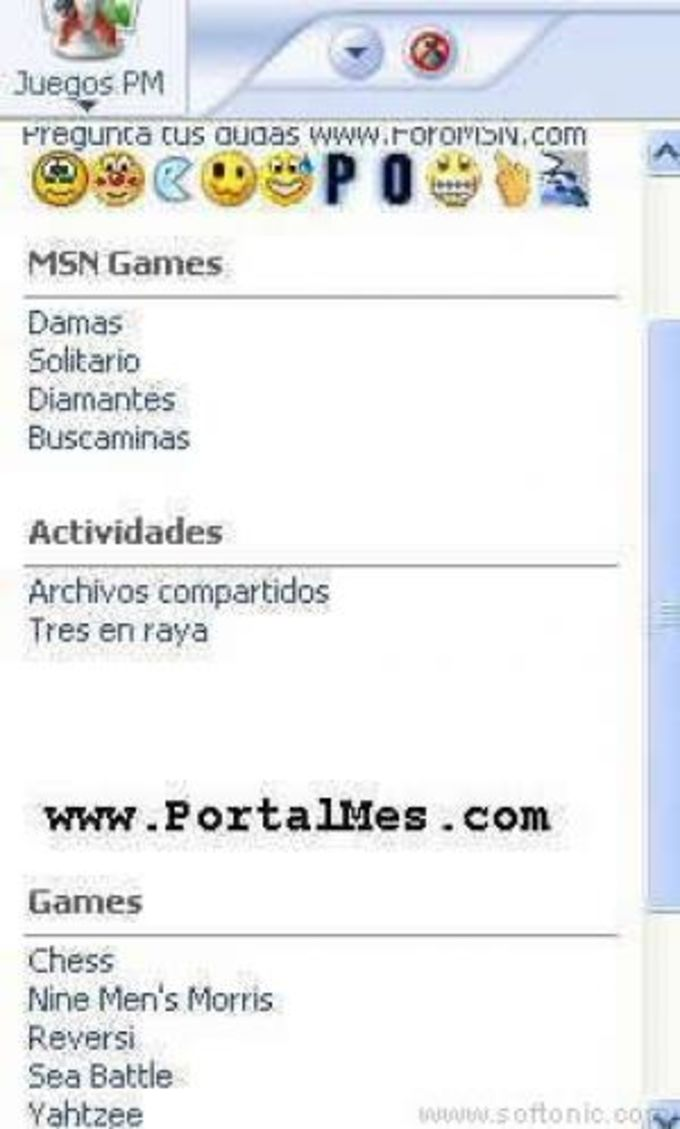 Mas Juegos Messenger