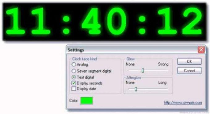 Clock Screen Saver