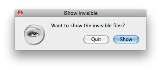 iShow Invisible