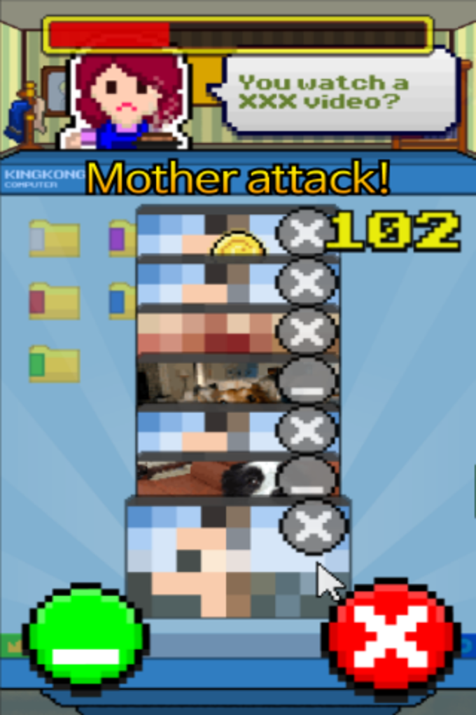 ANGRY MOTHER - Mouse Clicker