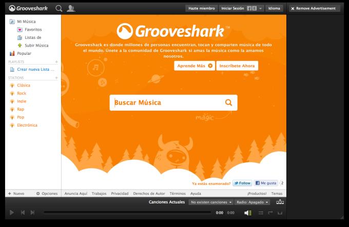 Grooveshark Desktop