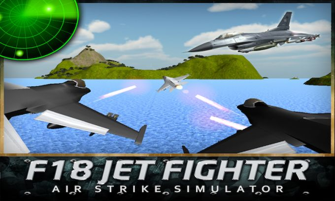 F18 Jet Fighter Air Strike