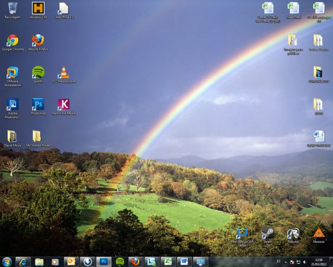Rainbows theme