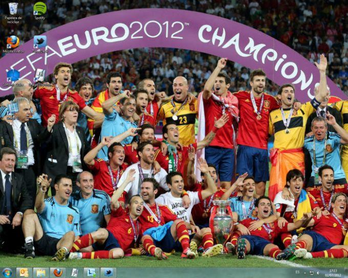 España campeona Euro 2012