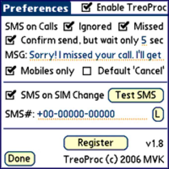 TreoProc