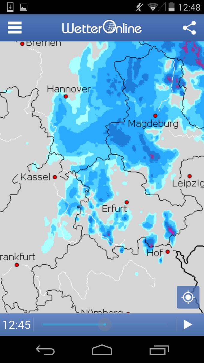 Regenradar Deutschland Vorhersage Kostenlos