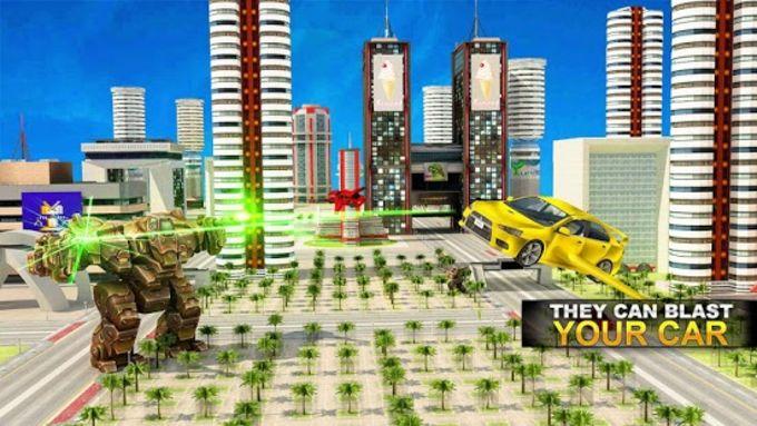 Real Robot Car Transformer War