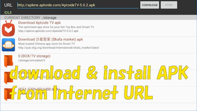 Smart TV APK downloader for Android - Download