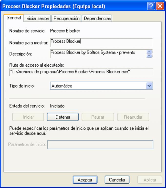 Process Blocker
