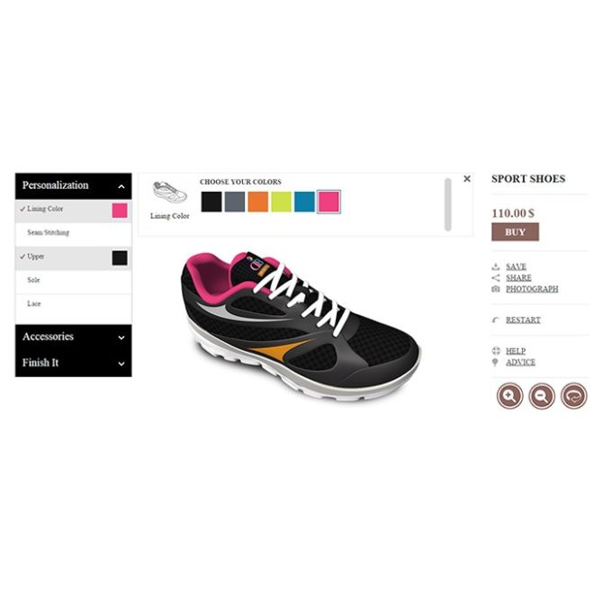 3D Shoe Designer Software