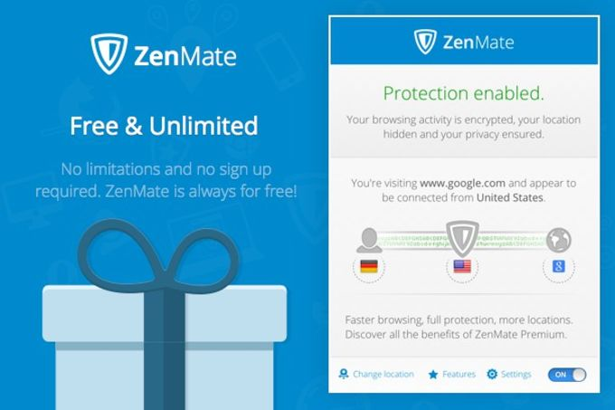 ZenMate VPN for Opera
