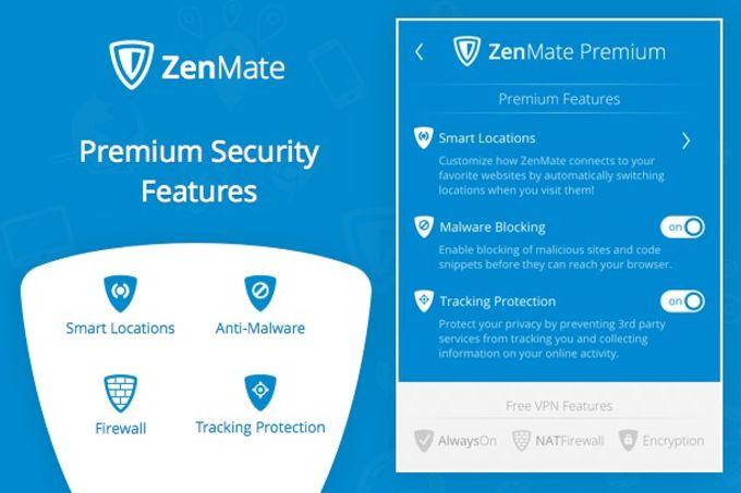 ZenMate VPN for Opera
