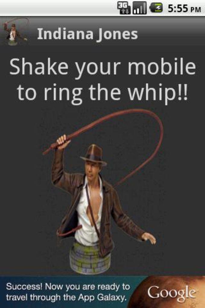 El látigo de Indiana Jones