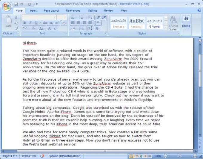 download ms office 2007 with key
